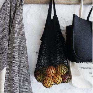Handbags - Black | French Market Net Bag